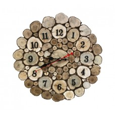 Часы из можжевельника