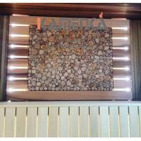 Декоративное панно из можжевельника 500х1200