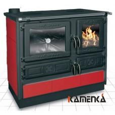 Отопительно варочная печь-плита Guca Guliver termo bordo (левая)