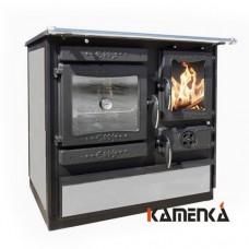 Отопительно варочная печь-плита Guca Guliver termo stone (левая)