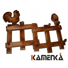 Вешалка Петушок на заборе кавказская липа