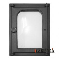 К303 Дверца топочная стекло 250х350мм