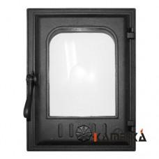 К403 Дверца топочная стекло 250х350мм