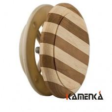 Клапан тарельчатый D=125мм Комбинированная древесина (ZEBRA)