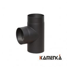 Тройник 90&#186 КПД черная сталь 2мм, диаметр 120