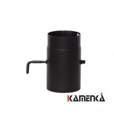 Шибер КПД черная сталь 2мм, диаметр 120 D=250мм